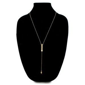 House of Harlow 1960 Goldtone Dakota Drop Necklace